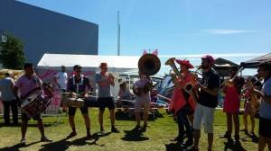 Relais pour la vie, avec Pink Luciole, Décathlon Campus, Villeneuve-d'Ascq - 11.06.2017