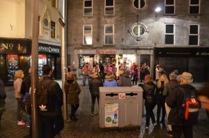 Shop Street, Galway - 26.10.2016, BIT 2016