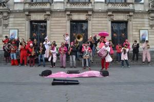Avec La Frontale, Place de l'Opéra, Lille - 25.02.2017 (Merci à Tom Nollet pour la photo !)