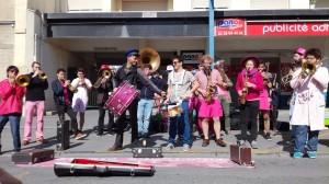 Avec Les Boules de Feu, Marché rue Jean Jaurès - 27.03.2017, BAR à Reims