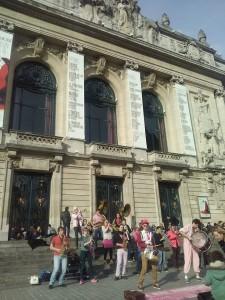 Place de l'Opéra, Lille - 30.04.2016
