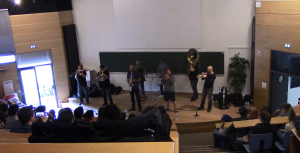 Masterclass Youngblood Brass Band, Ecole Centrale de Lille - 01.10.2016